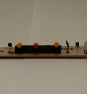 This is a photo of a Norcold Power Control Eyebrow Board #615712.