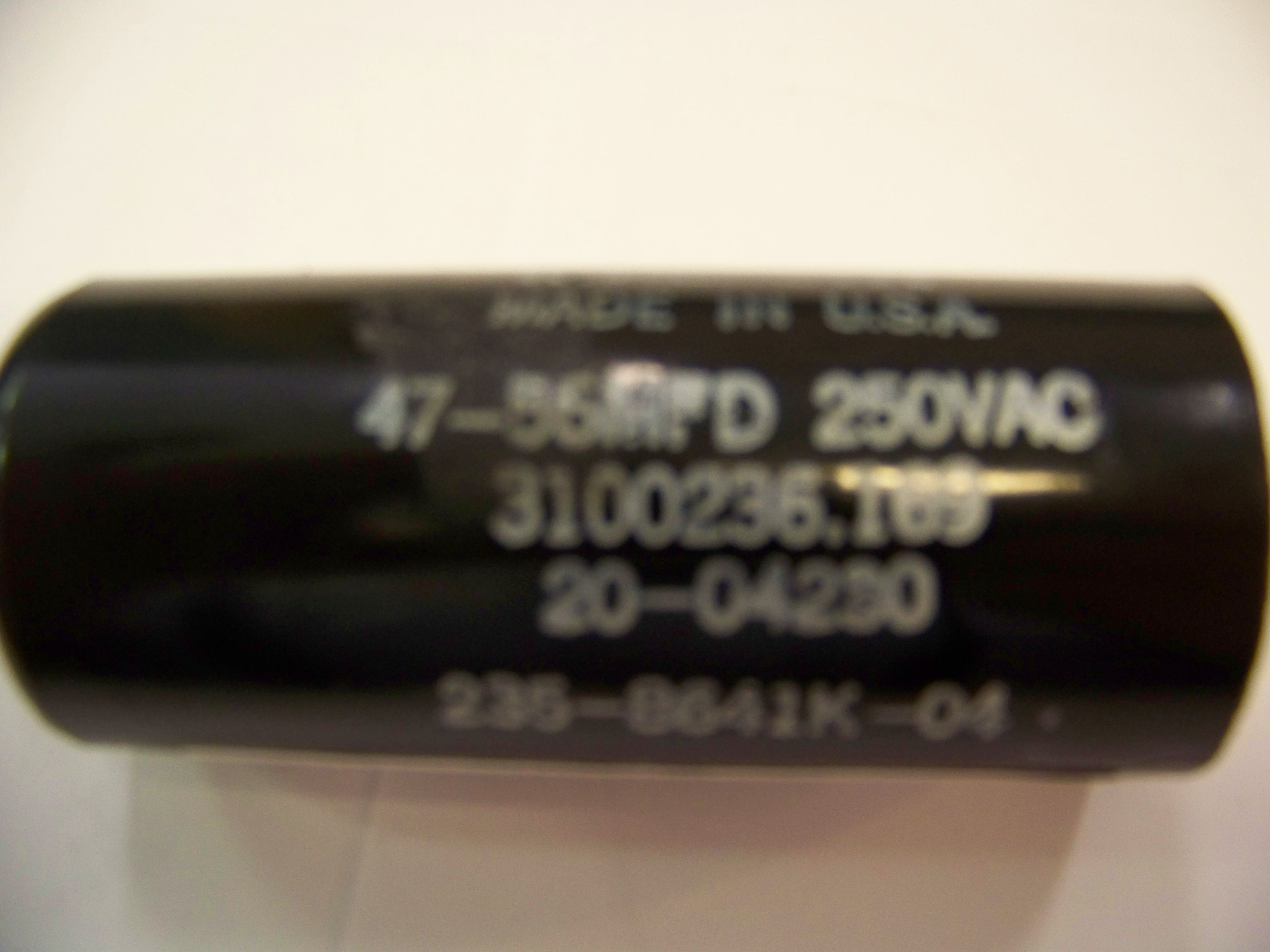 Photo of a Dometic AC Capacitor #3100236169