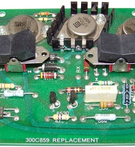 This is a photo of a Onan Circuit Board #300C859.