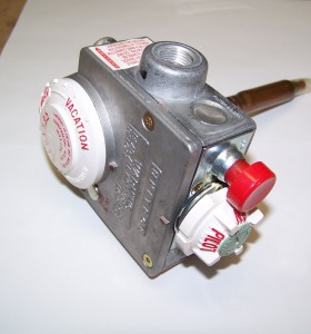 This is a photo of a Water Heater Gas Control Valve #8601.