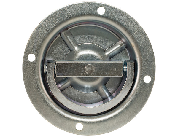 Photo of a Rotating Recessed Heavy Duty D-Ring #B901D